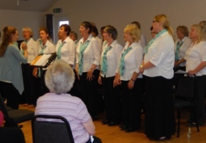 Singers at the WI