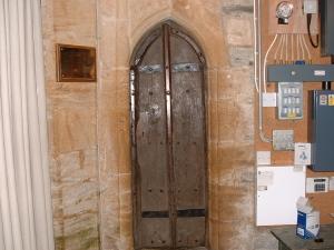 The Tower Door in the church